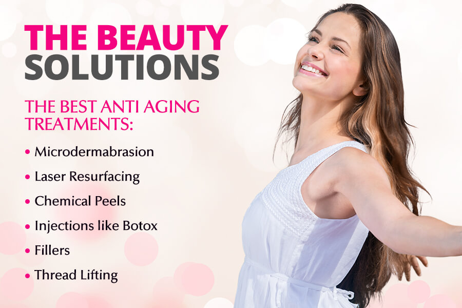 The Beauty Solutions – The Best Anti Aging Treatments